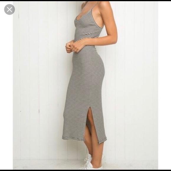 Brandy Melville Dresses & Skirts - Brandy Melville Striped Maxi Dress